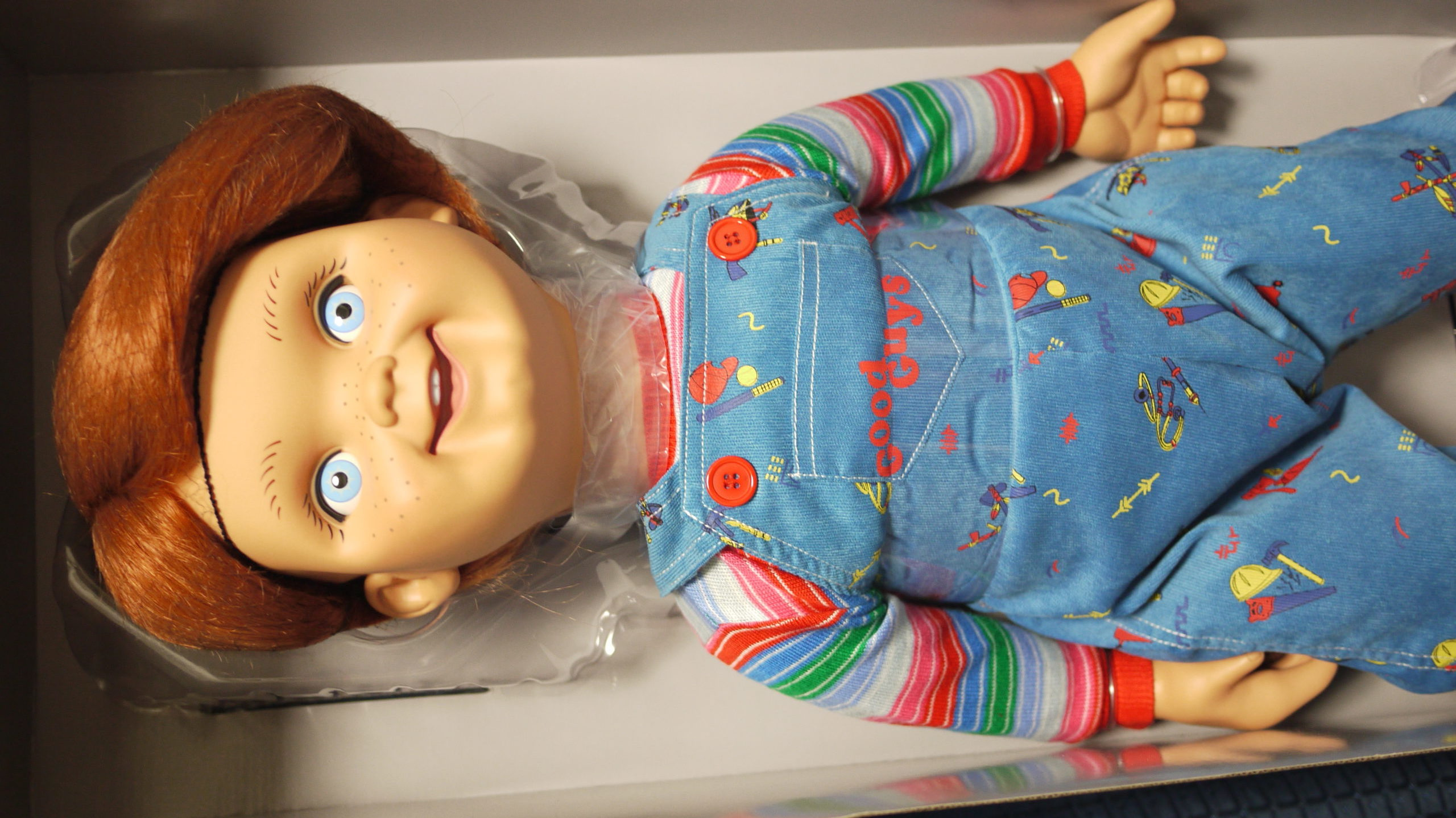 「チャイルド・プレイ」チャッキー等身大グッドガイ人形